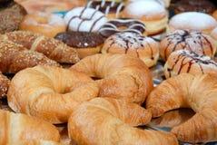 Produkts de boulangerie Photographie stock libre de droits