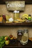 Produktu bogactwo powikłani węglowodany Foods Wysocy w węglowodanach Zdrowej diety łasowania pojęcie Szybcy i wolni węglowodany obrazy stock