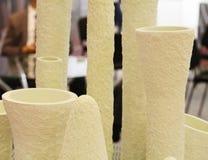 Produkty dla blokowa? rynn dziury w aluminiowych wytapiania i mienia pach obraz stock