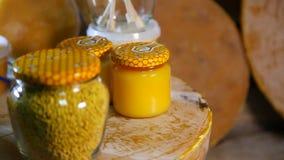 Produkty livelihoods pszczoły Produkty beekeeping zbiory wideo