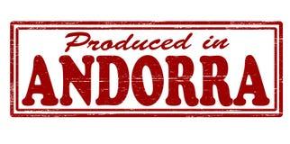 Produkujący w Andorra Obraz Stock