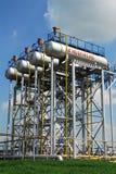 Produção de petróleo 'na empresa petrolífera de Tatneft Imagens de Stock Royalty Free