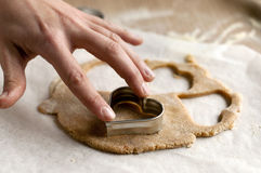 Produrre i biscotti Fotografia Stock
