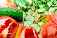 Produrre insalata di verdure Immagine Stock