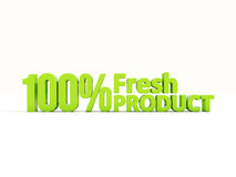 produto 3d fresco Foto de Stock Royalty Free