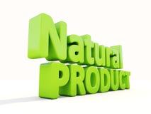 produto 3d natural Imagens de Stock Royalty Free