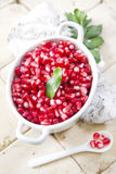 Produto de Autumn Season Pomegranate imagem de stock