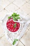 Produto de Autumn Season Pomegranate foto de stock royalty free