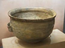 Produto de cer?mica da cultura de Longshan imagens de stock royalty free