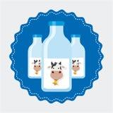 Produto de leite ilustração stock