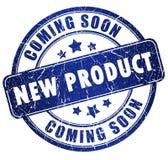 Produto novo que vem logo Imagens de Stock