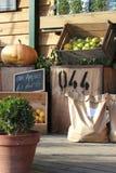 Produto orgânico da loja da exploração agrícola Fotografia de Stock Royalty Free