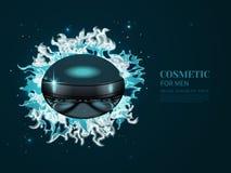 Produto ou perfume cosmético ilustração royalty free