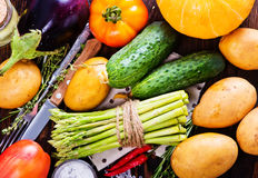 Produto-vegetais frescos de vegetables Imagem de Stock