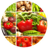 Produto-vegetais frescos de vegetables Fotos de Stock