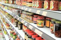 Produtos alimentares asiáticos Fotos de Stock Royalty Free