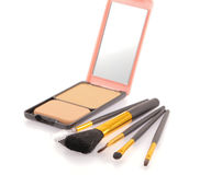 Produtos cosméticos Foto de Stock Royalty Free
