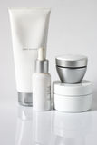 Produtos cosméticos Imagem de Stock Royalty Free