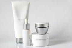 Produtos cosméticos Fotografia de Stock