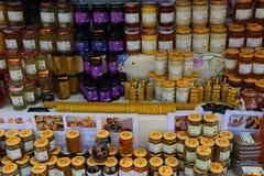 Produtos da abelha Fotografia de Stock Royalty Free