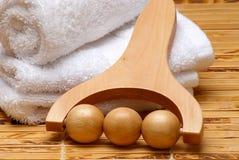 Produtos da massagem Fotografia de Stock