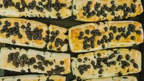 Produtos da padaria na loja fotografia de stock royalty free