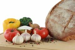 Produtos de alimento deliciosos Imagens de Stock