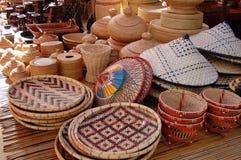 Produtos de bambu Fotos de Stock
