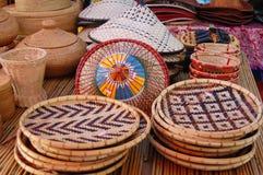 Produtos de bambu Imagem de Stock Royalty Free