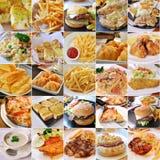 produtos de fast food Foto de Stock Royalty Free