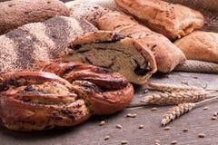 Produtos de forno e produkts imagem de stock