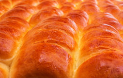Produtos de forno fresco - apetitoso corado dos queques Foto de Stock Royalty Free