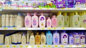 Produtos de higiene do bebê Foto de Stock Royalty Free