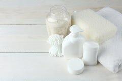 Produtos de higiene pessoal Fotos de Stock Royalty Free