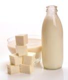 Produtos de leite Fotos de Stock Royalty Free
