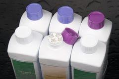 Produtos de limpeza. fotografia de stock