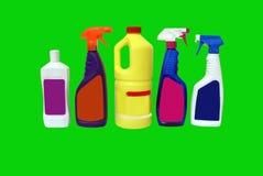 Produtos de limpeza Imagens de Stock