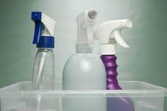Produtos de limpeza Imagem de Stock Royalty Free