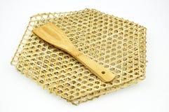 produtos do bambu da cozinha   imagem de stock royalty free