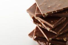Produtos do chocolate imagens de stock royalty free