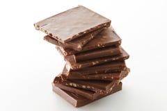 Produtos do chocolate imagem de stock