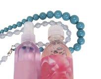 Produtos e colares do corpo Imagens de Stock Royalty Free