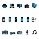 Produtos electrónicos de consumo Imagens de Stock Royalty Free