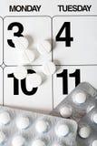 Produtos farmacêuticos Imagens de Stock