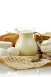 Produtos lácteos Foto de Stock Royalty Free