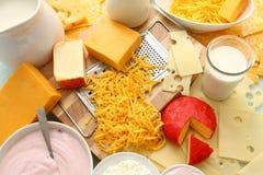 Produtos lácteos Imagens de Stock Royalty Free