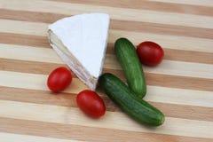 Produtos láteos para a refeição tradicional de Shavuot Imagem de Stock