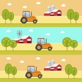 Produtos orgânicos Agricultura e cultivo agribusiness Paisagem rural Fotografia de Stock Royalty Free