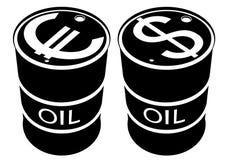 Produtos petrolíferos ilustração do vetor
