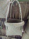 Produtos processados do bambu Fotografia de Stock